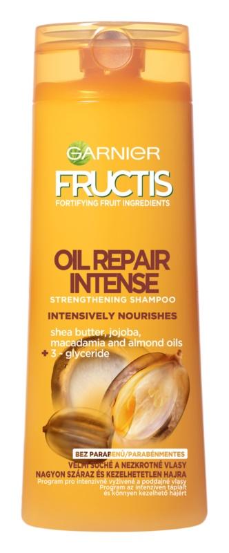 Garnier Fructis Oil Repair Intense зміцнюючий шампунь для дуже сухого волосся