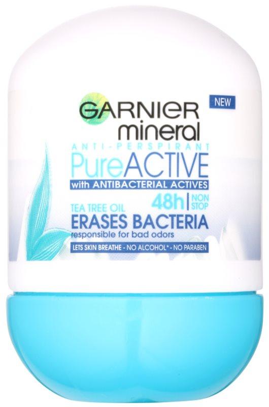 Garnier Mineral Pure Active Antitranspirant-Deoroller