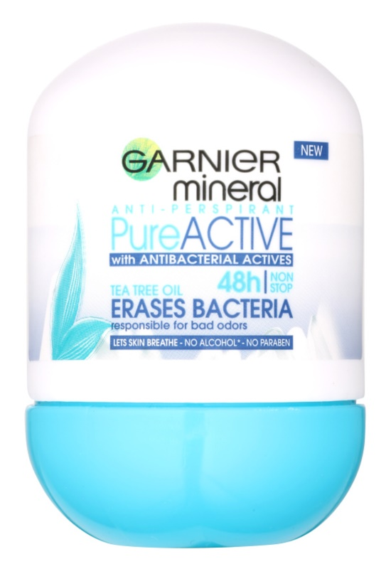 Garnier Mineral Pure Active deodorant roll-on antibacterian