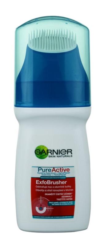 Garnier Pure Active gel limpiador con cepillo