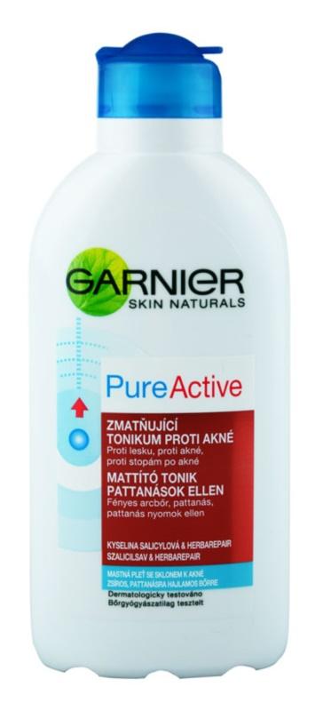 Garnier Pure Active čistiace tonikum pre problematickú pleť, akné
