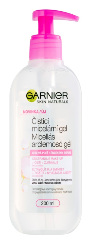 Garnier Skin Naturals čistiaci micelárny gél