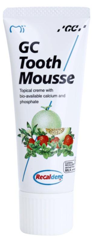 GC Tooth Mousse Vanilla remineralizirajuća zaštitna krema za osjetljive zube bez fluorida