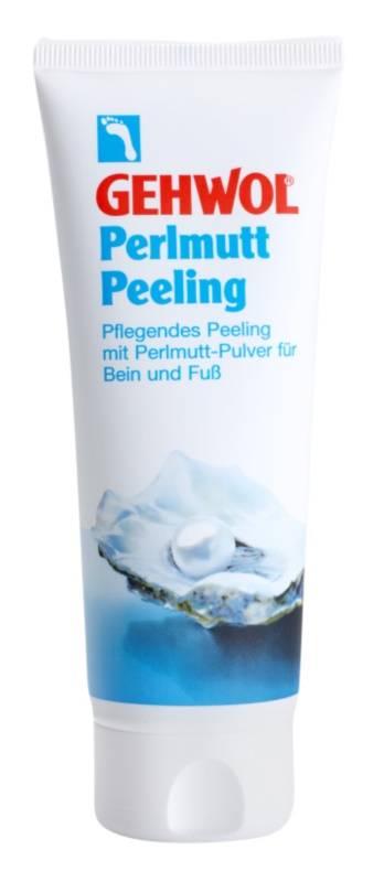Gehwol Classic peeling para os pés com pó de pérola