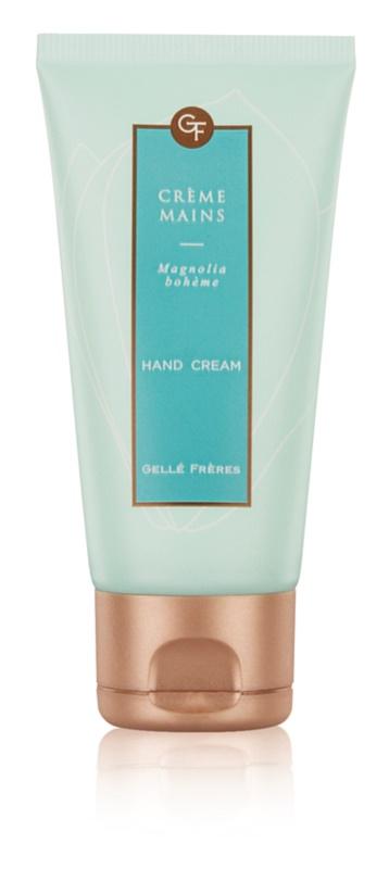 Gellé Frères Queen Next Door Magnolia Bohème crème mains pour femme 50 ml