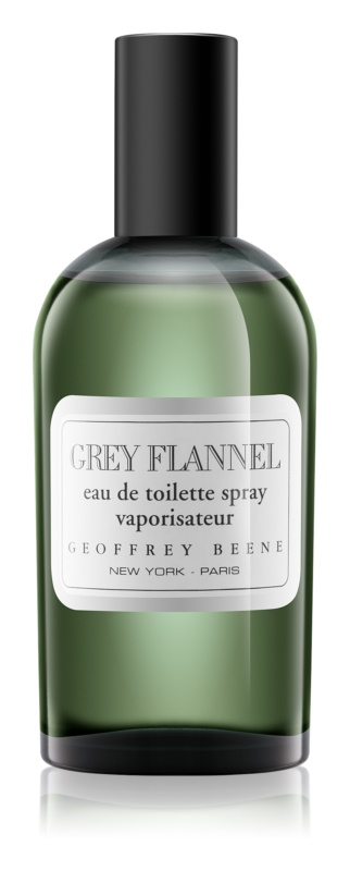Geoffrey Beene Grey Flannel eau de toilette per uomo 120 ml con nebulizzatore