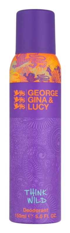 George Gina & Lucy Think Wild Deo-Spray für Damen 150 ml