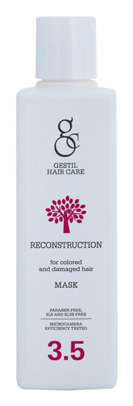 gestil reconstruction masque revitalisant pour cheveux color s et ab m s. Black Bedroom Furniture Sets. Home Design Ideas