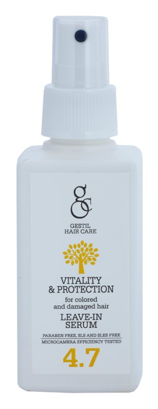 Gestil Vitality & Protection Revitalizing Serum For Damaged And Colored Hair