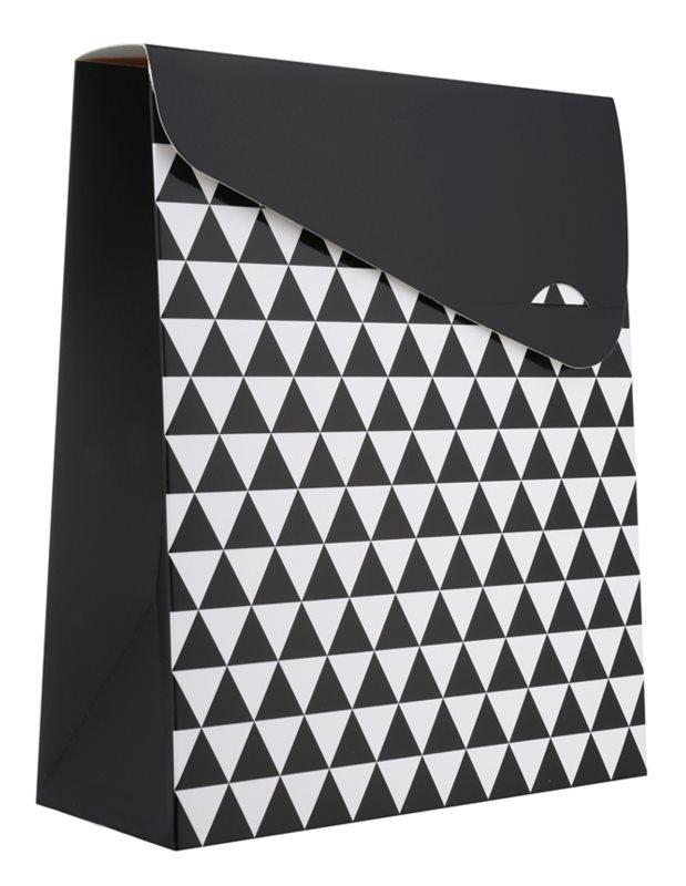 Giftino Wrapping  Pungă cadou, model geometric - mică