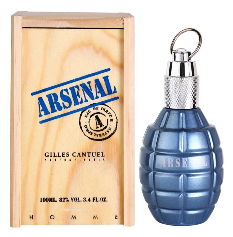 Gilles Cantuel Arsenal Blue eau de parfum per uomo 100 ml