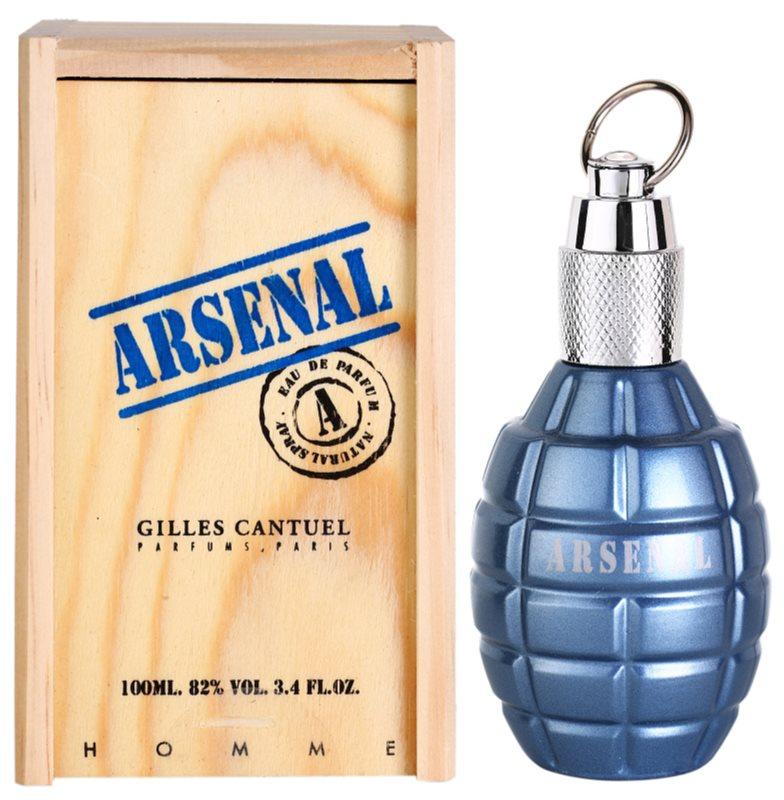 Gilles Cantuel Arsenal Blue Parfumovaná voda pre mužov 100 ml