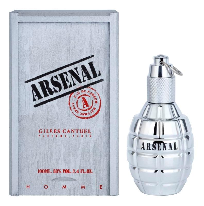 Gilles Cantuel Arsenal Platinum eau de parfum per uomo 100 ml
