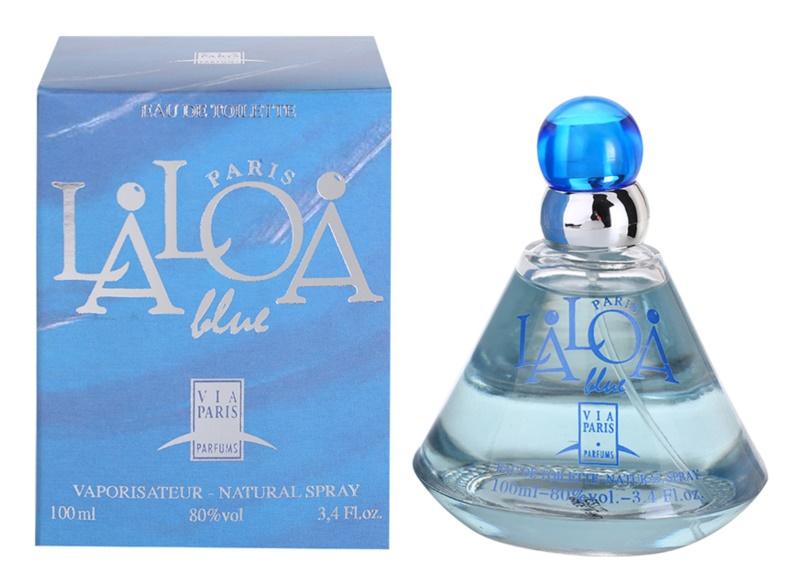 Gilles Cantuel Laloa Blue eau de toilette pour femme 100 ml