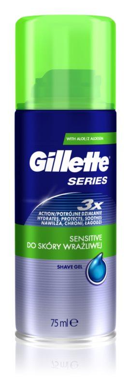 Gillette Series gel de rasage
