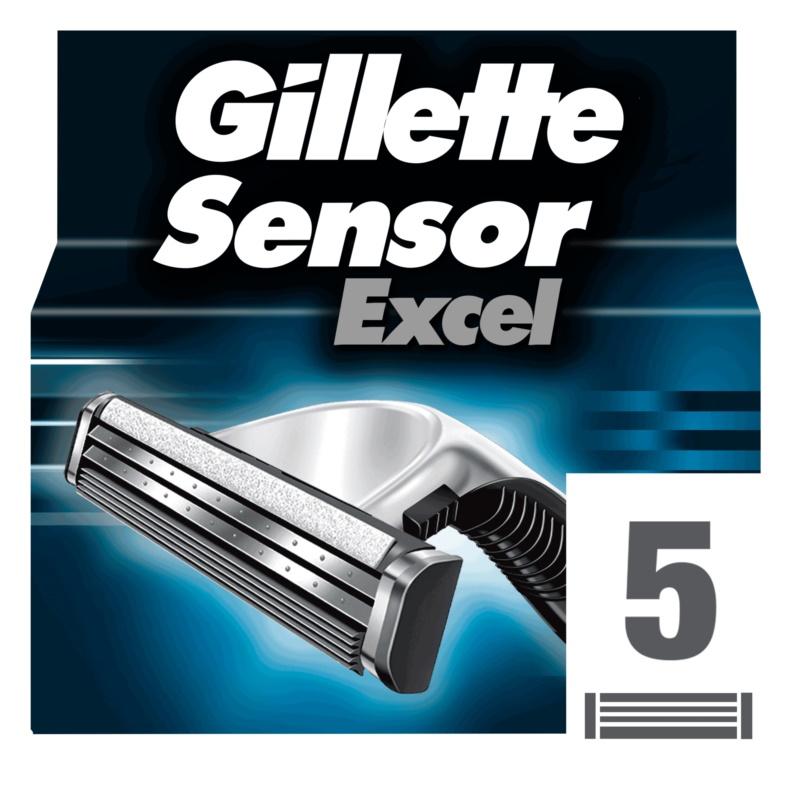 Gillette Sensor Excel recarga de lâminas  para homens