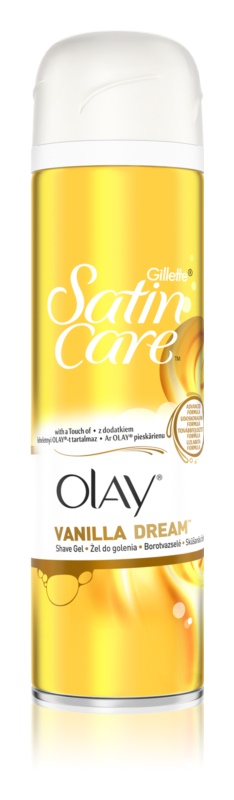 Gillette Satin Care Olay Rasiergel