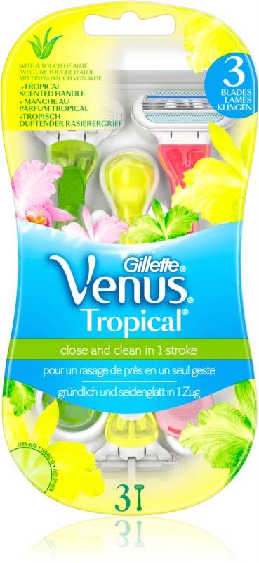 Gillette Venus Tropical jednorázové strojky