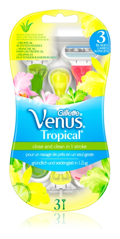 Gillette Venus Tropical One Time Razors