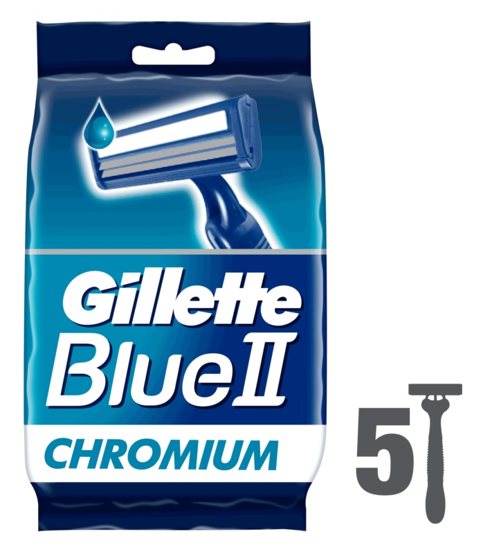 Gillette Blue II brivnik za enkratno uporabo