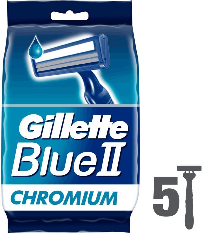 Gillette Blue II jednorázové strojky