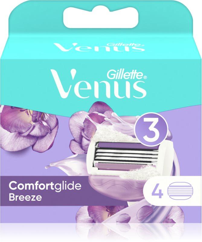 Gillette Venus Breeze recambios de cuchillas 4 uds