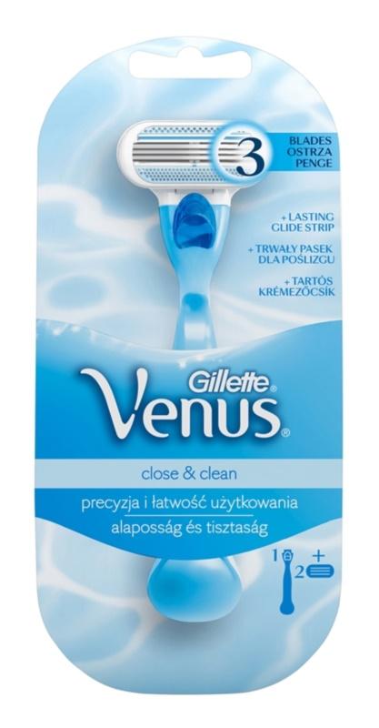 Gillette Venus Close & Clean holicí strojek 2 ks