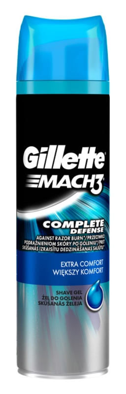 Gillette Mach 3 Complete Defense gel de rasage