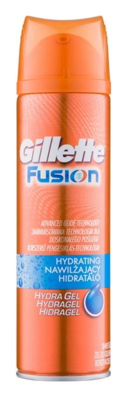 Gillette Fusion Proglide gel hydratant rasage