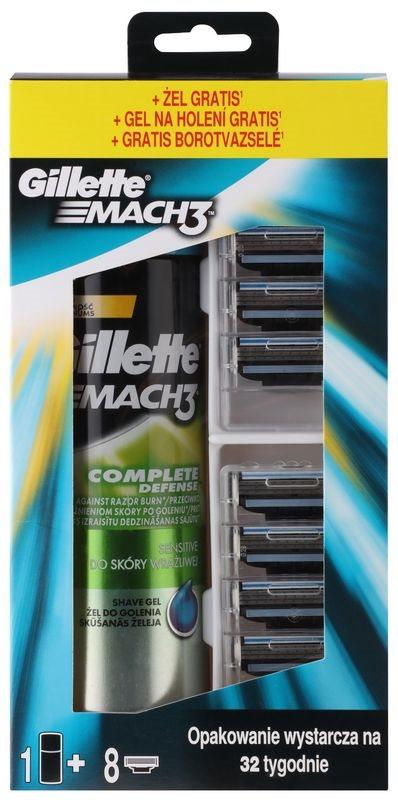 Gillette Mach 3 kosmetická sada IV.