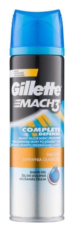 Gillette Mach 3 Close & Smooth gel de afeitar