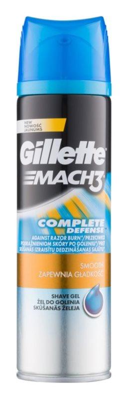 Gillette Mach 3 Close & Smooth gel na holení