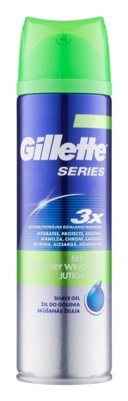 Gillette Series gel de rasage pour homme