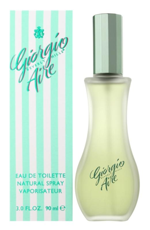 Giorgio Beverly Hills Aire Eau de Toilette para mulheres 90 ml