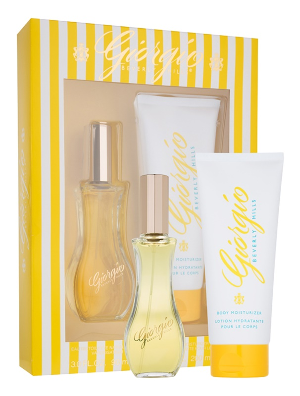 Giorgio Beverly Hills Yellow Geschenkset I.