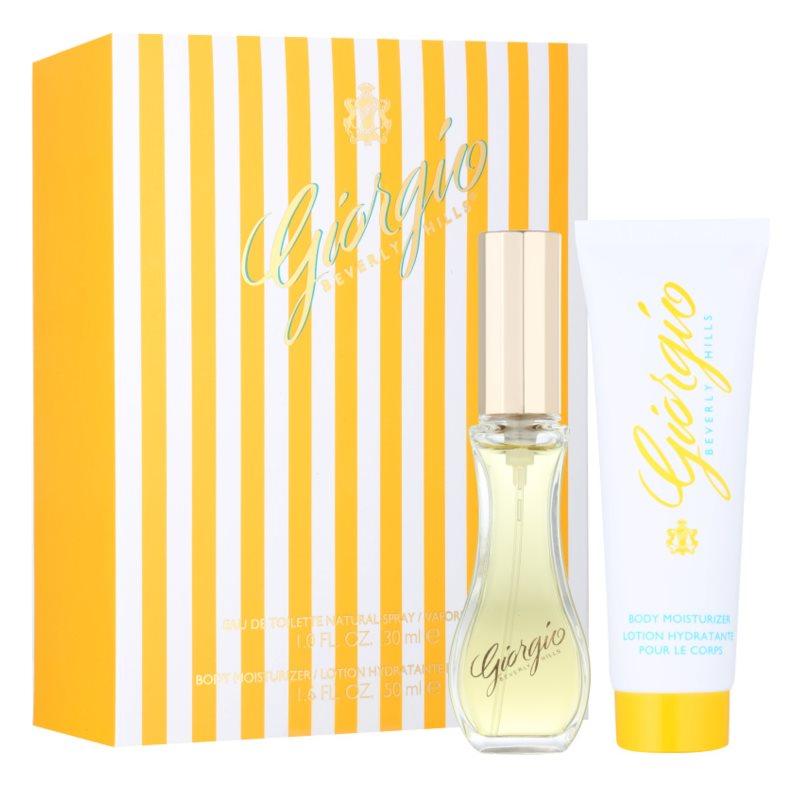 Giorgio Beverly Hills Yellow dárková sada