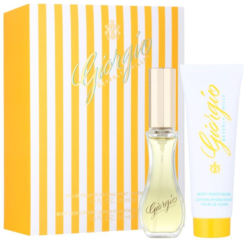 Giorgio Beverly Hills Yellow poklon set