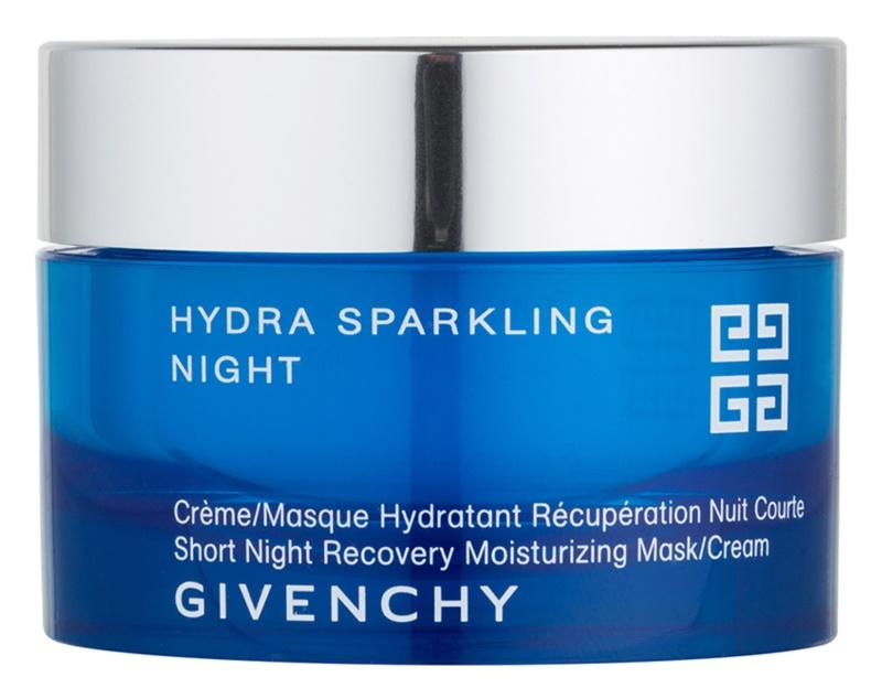 Givenchy Hydra Sparkling mască și cremă de noapte hidratantă 2 in 1