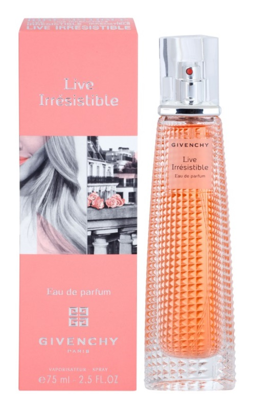 Givenchy Live Irresistible Parfumovaná voda pre ženy 75 ml