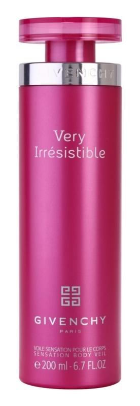Givenchy Very Irrésistible tělové mléko pro ženy 200 ml