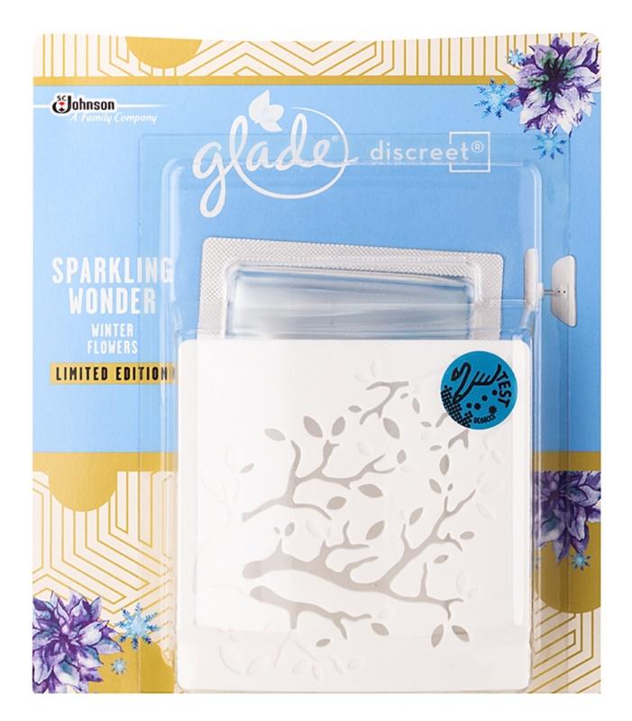 Glade Discreet Electric ambientador  8 g com recarga Sparkling Wonder