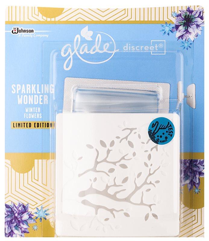 Glade Discreet Electric légfrissítő 8 g töltelékkel Sparkling Wonder