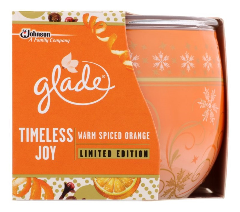 Glade Timeless Joy bougie parfumée 120 g