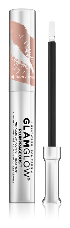 Glam Glow Plumprageous metalický lesk na pery pre zväčšenie objemu