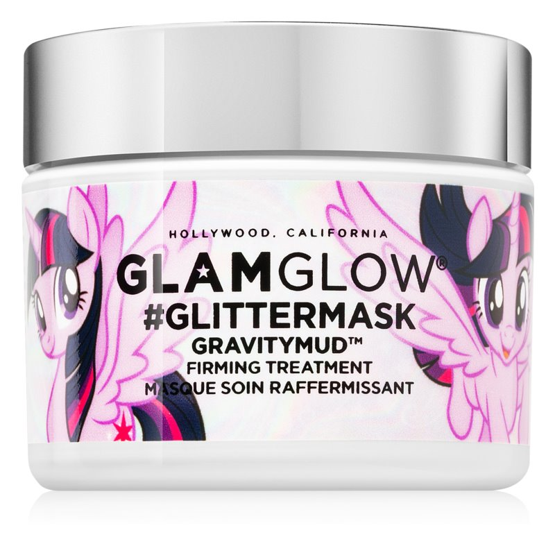 Glam Glow GravityMud #GlitterMask luščilna maska za obraz z učvrstitvenim učinkom