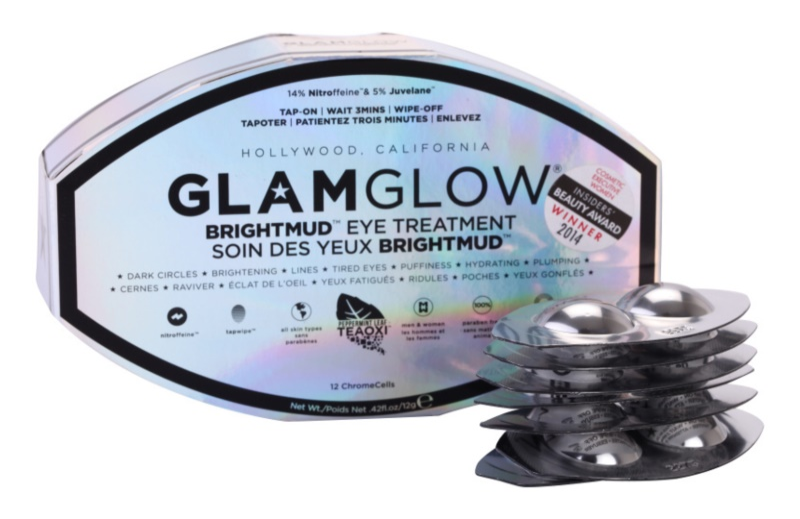 Glam Glow Revitalize Tired Eyes tratamiento de lodo para contorno de ojos