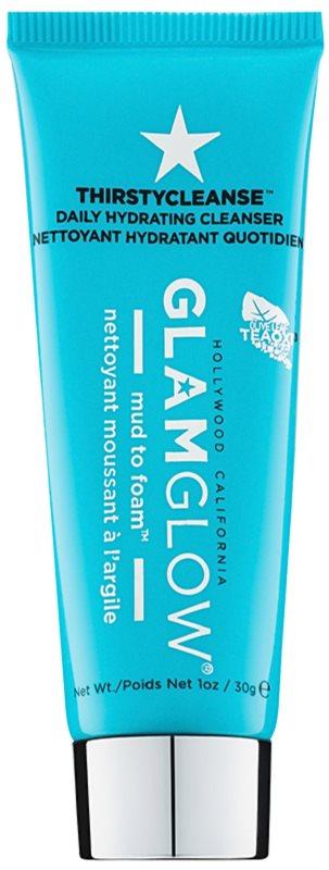 Glam Glow Thirsty Cleanse espuma desmaquillante limpiadora con efecto humectante