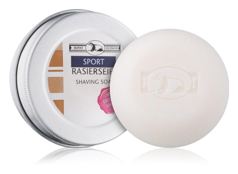 Golddachs Sport mýdlo na holení v krabičce