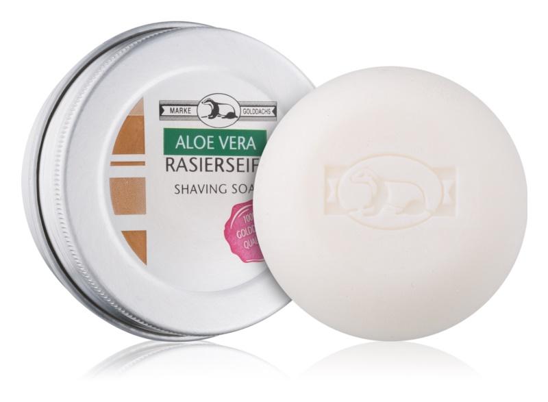 Golddachs Aloe Vera mydlo na holenie mydlo na holenie v krabičke