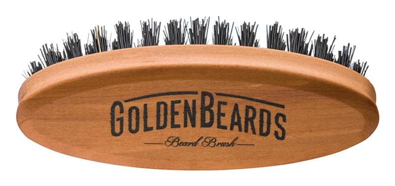 Golden Beards Accessories cestovní kartáč na vousy